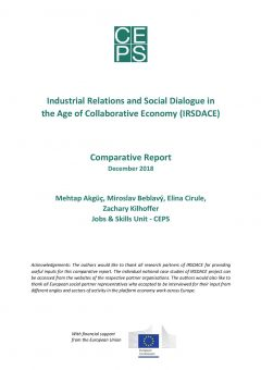 Industrial Relations and Social Dialogue in the Age of Collaborative Economy