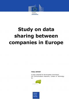 Study on data sharing between companies in Europe