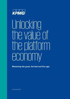 Unlocking the value of the platform economy