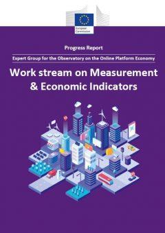 Work stream on measurement & economic indicators: Progress report