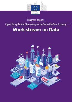 Work stream on data: Progress report