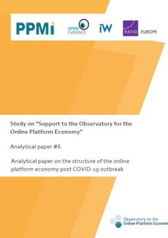 Analytical paper 6: Structure of the online platform economy post COVID-19 outbreak