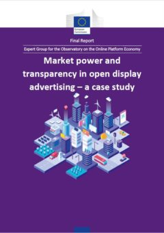 Market power and transparency in open display advertising – a case study: Final report